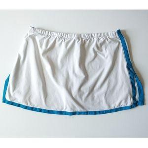 Nike golf tennis athletic skort skirt shorts teal